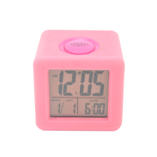 Silicone Clock, Case LCD Large Digital Calendar Clock, Animal Sound Alarm Clock