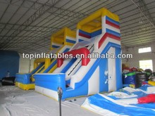 inflatable children outdoor slides and swing