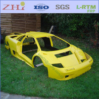 Custom Fiberglass Replicas Sports Car Body