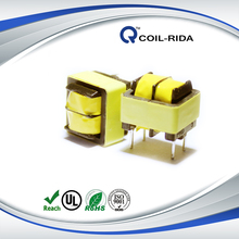 Power Supplier EE Style Series Ferrite Core Flyback High Frequency Transformer RoHS