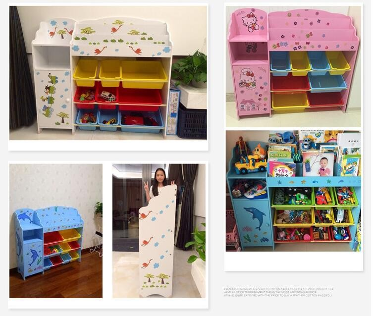 new style educational toy Popula wood toy shelf Store Shelf wood toys shelf with drawer