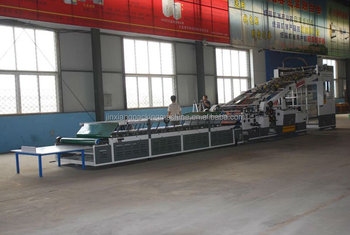 high quality fully Automatic paper flute laminating machine