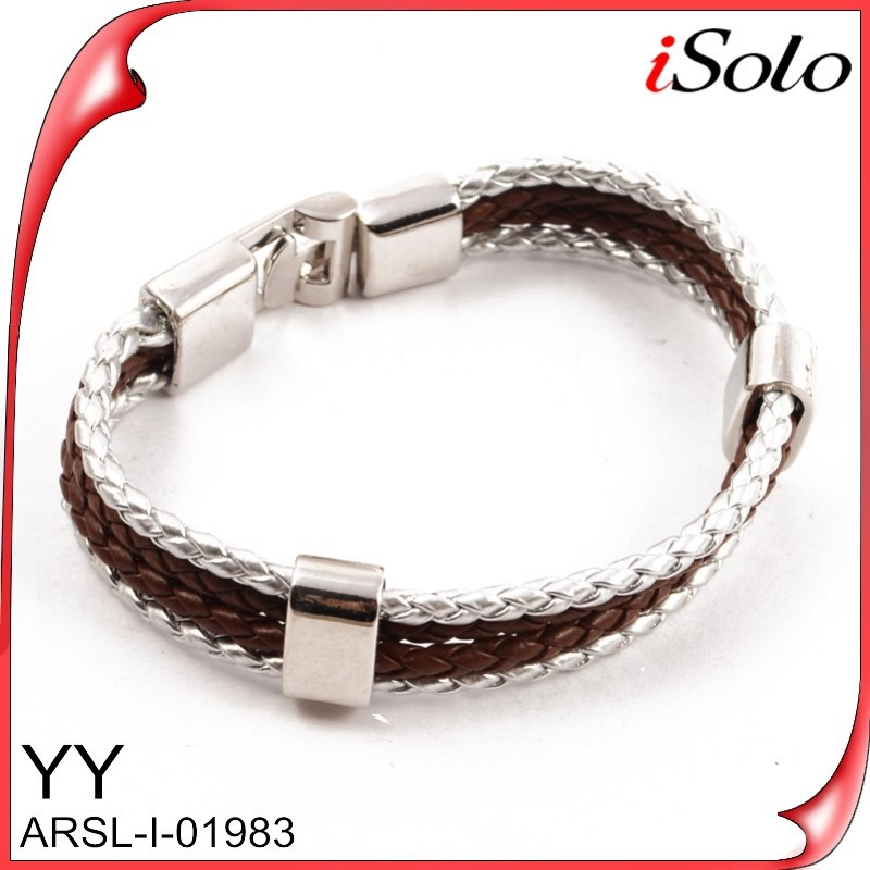 New 2015 chinese good luck bracelet teen leather bracelet wholesale
