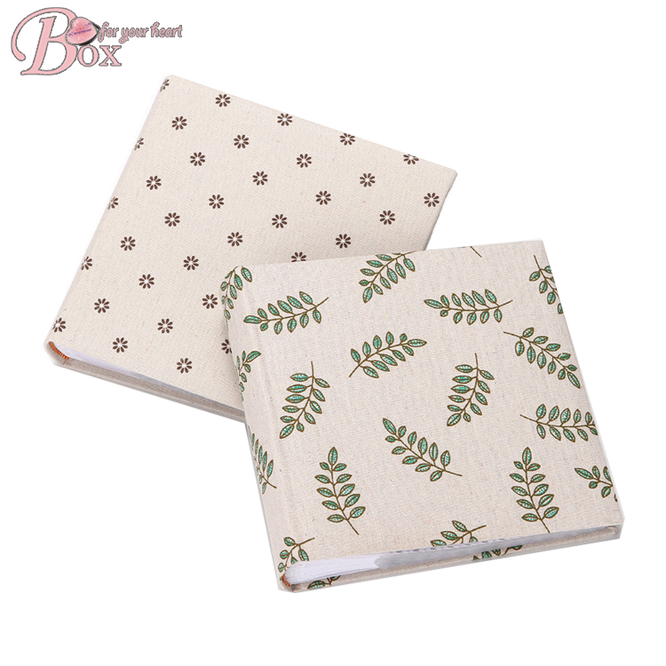 Fabric Covered Fresh Sheets Paper Photo Album