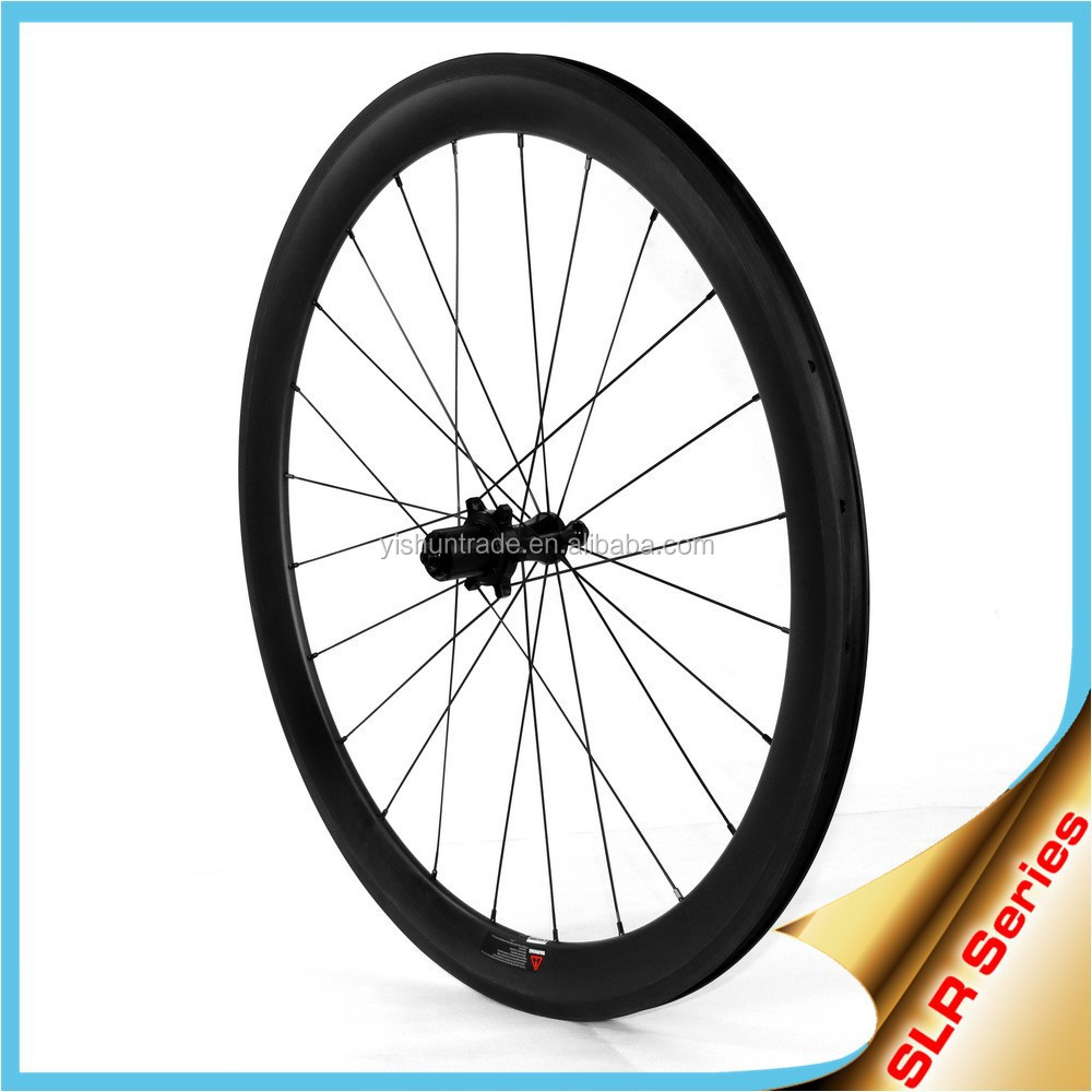 Top quality!! 700C carbon fiber bike wheels ceramic hub carbon fibre wheels 55mm clincher 26mm carbon road wheels SLR550C
