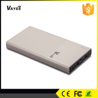 9v power bank with torch light usb power charger 12800mah