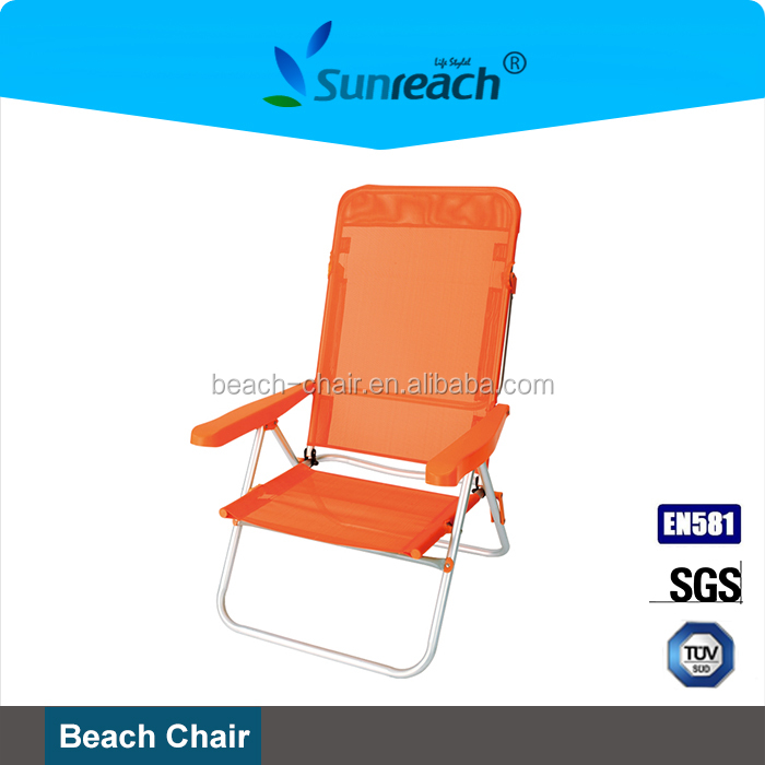 Aluminum Outdoor Mental & Mesh Folding Concert Chair