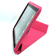 Bright Color with Top Quality of Leather Stand Case for ipad 2/3/4 with good price