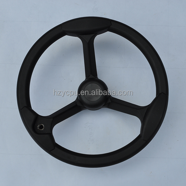 Good quality PU steering wheel