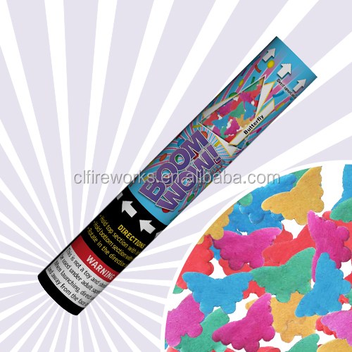 2014 butter fly handheld confetti cannon