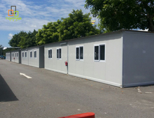 Container modular motel for light steel container office in jakarta