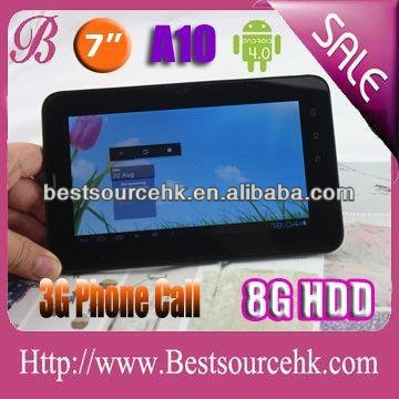 3G build in dual core 1.6G 1G Rom 16G Nand Flash google tablet with CE