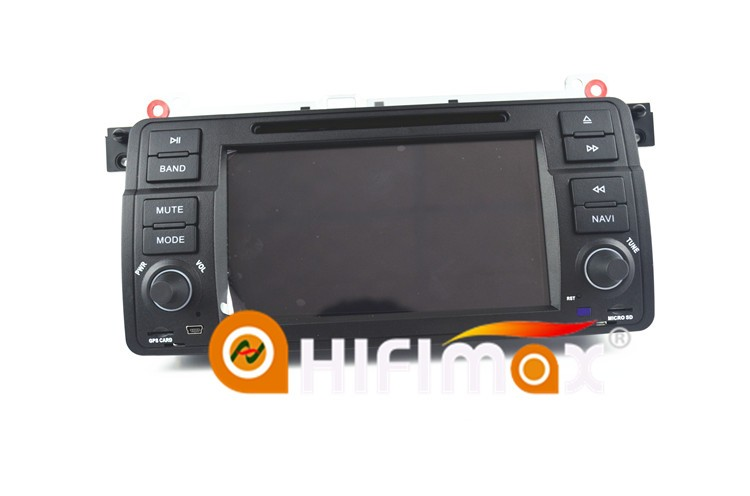 HIFIMAX Android 7.1 navigation for BMW 3 Series E46 2002 to 2006 navigation car dvd and gps,blutooth,DVD