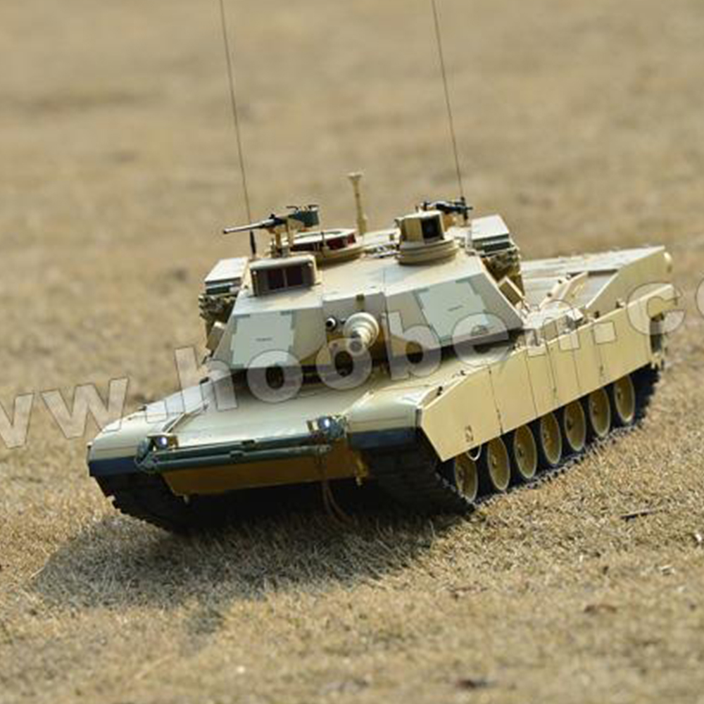 HOOBEN AMERICAN M1A2 ABRAMS MAIN BATTLE TANK ARTR(Static) C6601SK US Military Tank Toys