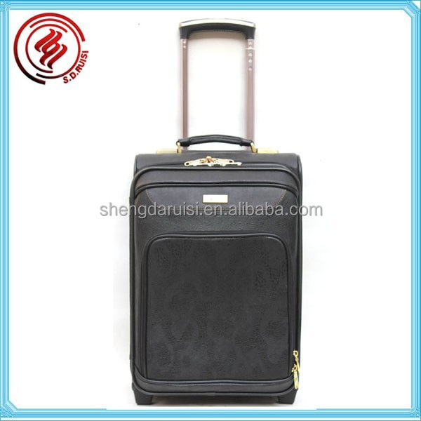 Pu material China carry luggage men ISO9001 Certificate wholesale high trolley bag hot sale China luggage and handbags