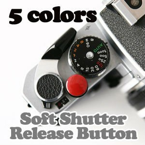 Soft Shutter Release Button (5colors)