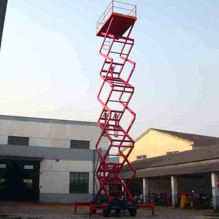 Self-Propelled Hydraulic Mobile Lift Equipment Lifting Platform