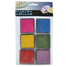Cute Inkpad Craft Oil Based DIY Ink Pads for Rubber Stamps Fabric Scrapbook Wedding Decor Fingerprint Stamp Pad