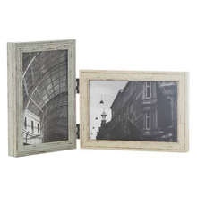Various Shapes Double Wooden Folding Photo Frames
