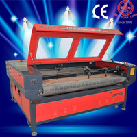 BJG-1610F automatic fabric laser cutting machine for printed sportswear/ laser cutter