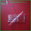 Clear Quartz Glass Tube Borosilicate Glass Pipe With Bell Mouth Inside