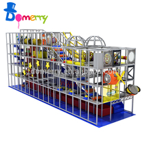 Wonderful space theme commercial indoor playground large children indoor soft playground