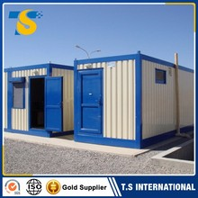 Cheap Modular iso sea 20ft shipping container house container hotel for living