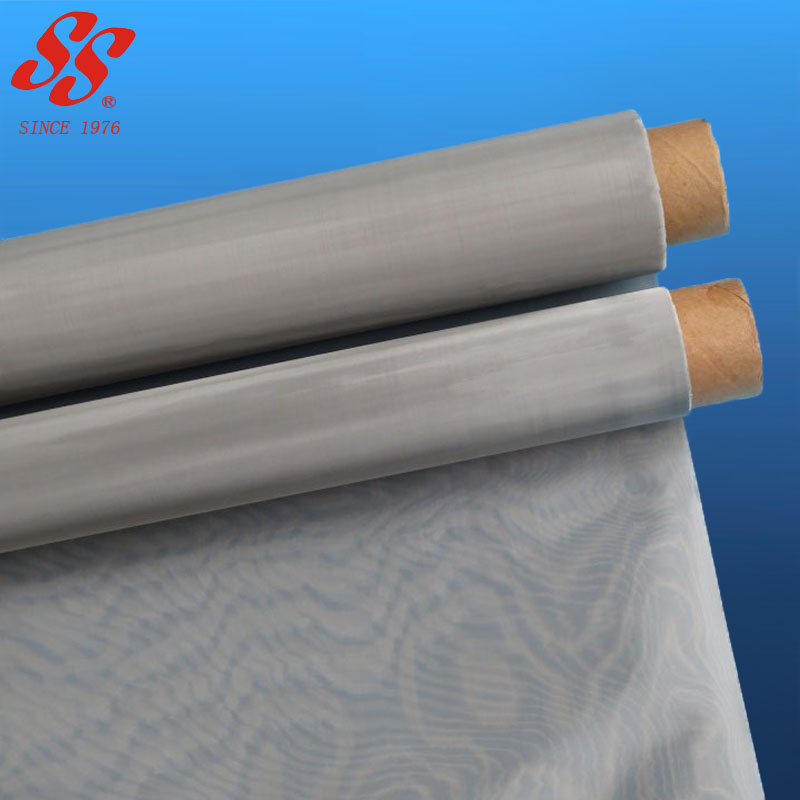fine sus316 304 stainless steel woven metal fabric/stainless steel wire mesh fabric