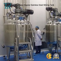dimpled Jacketed Stainless Steel Blending Tank