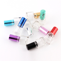 New Glass 5ml Refillable Portable Promotion Bottles 4ml Glass Perfume Bottle