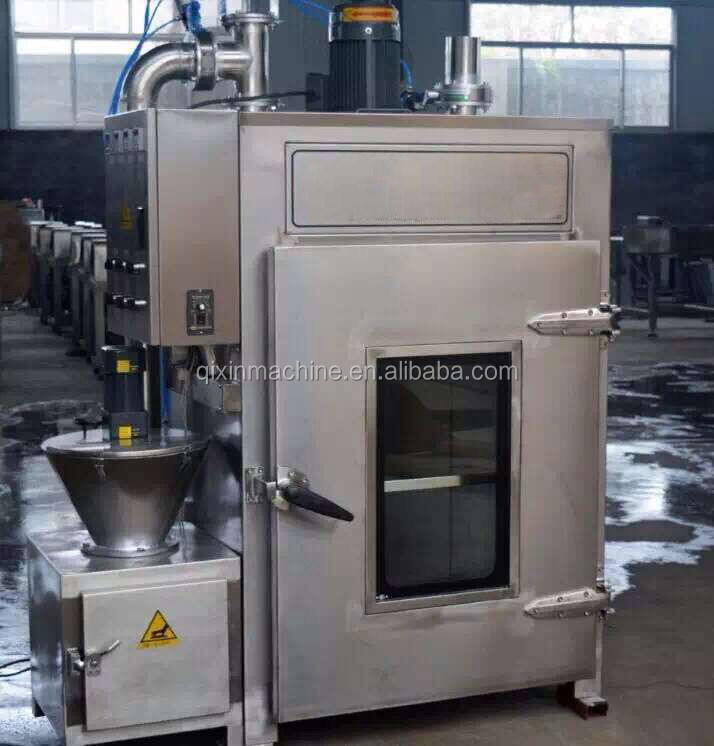 fish meat processing machine / sausage smoke oven for sale
