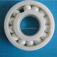 High Temperature Antifriction 25x47x12 ZrO2 full ceramic ball bearings