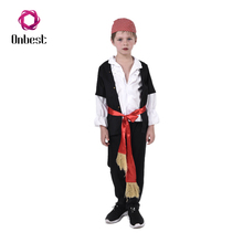Pirate Overalls With Belt Performers Cosplay Party Movie Costumes