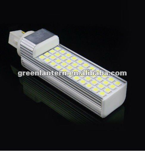 High Brightness SMD5050 2 Pins G24 10W pl led lamp