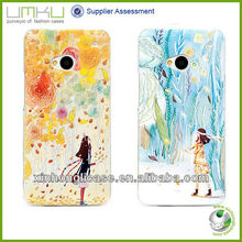 Unique 3D Mobile Phone Cover ,For HTC One M7 Cover
