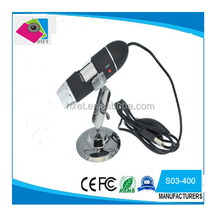 400X USB Digital Microscope 8 LED Magnifier Camera for qc skin industrial jewellery biological