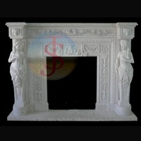 Hand Carved fireplace surround kits