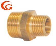 Brass fitting reducing nipple couplings/ Connections/Pipe Fitting OEM