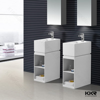 cabinet wash hand basin bathroom sinks with two faucets
