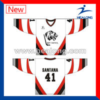 New Style Custom Ice Hockey Jerseys Manufactuer Hockey Shirt Design