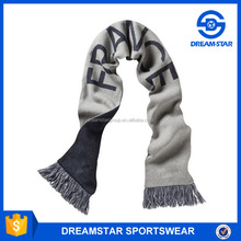 Cheap New style Polyester Printed Sports Club Scarf Soccer Soft Cotton Scarf
