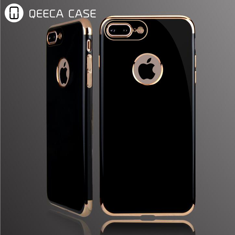 For Apple iPhone 7 Case Cover Shock-Absorption Bumper and Anti-Scratch Clear Back for iPhone 7