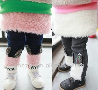 C10221C WINTER THICKEN DESIGN PANTSKIRT FOR GIRL