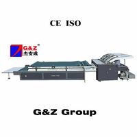 Semi automatic Flute roll laminating machine