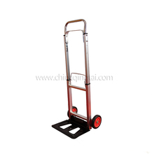 High quality lightweight folding telescopic aluminum trolley