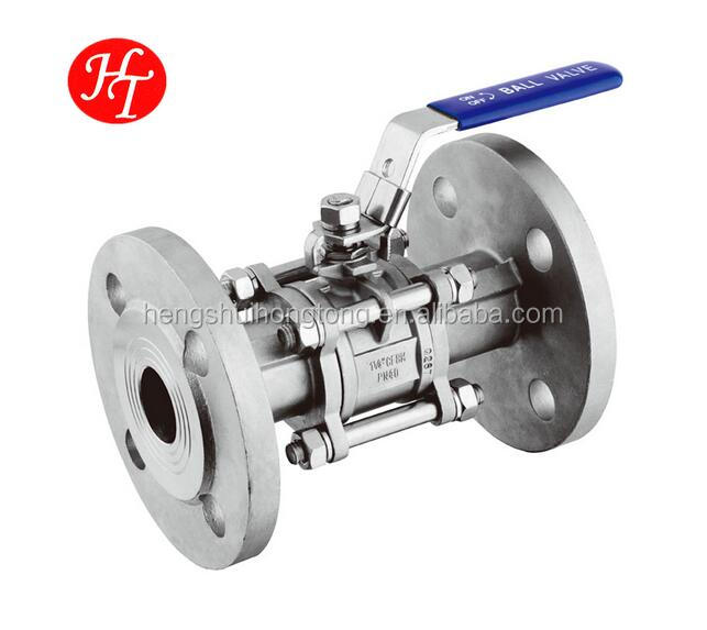 Top grade flange ball valve dn250 at low price