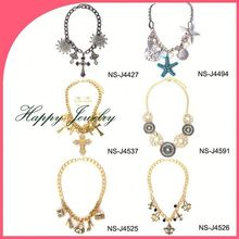 YIWU JEWELRY FACTORY WHOLESALE necklaces fashion handicraft