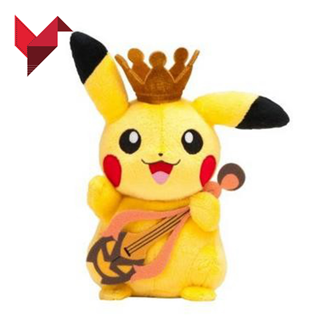 Pokemon go plus pikachu plush doll pika toys stuffed <strong>animal</strong>