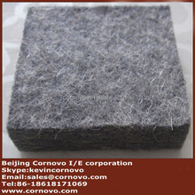 thick pressed wool felt for saddle pad