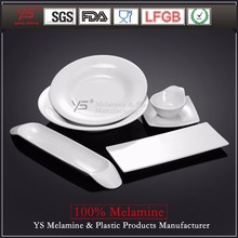 Factory supply high class 100% melamine arts and crafts dinnerware